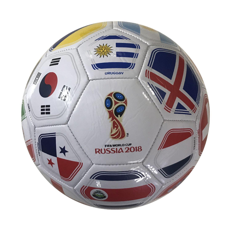 FIFA 2018 World Cup Russia Souvenir Size 5 Soccer Ball - White ... 6f5797ad4b1d