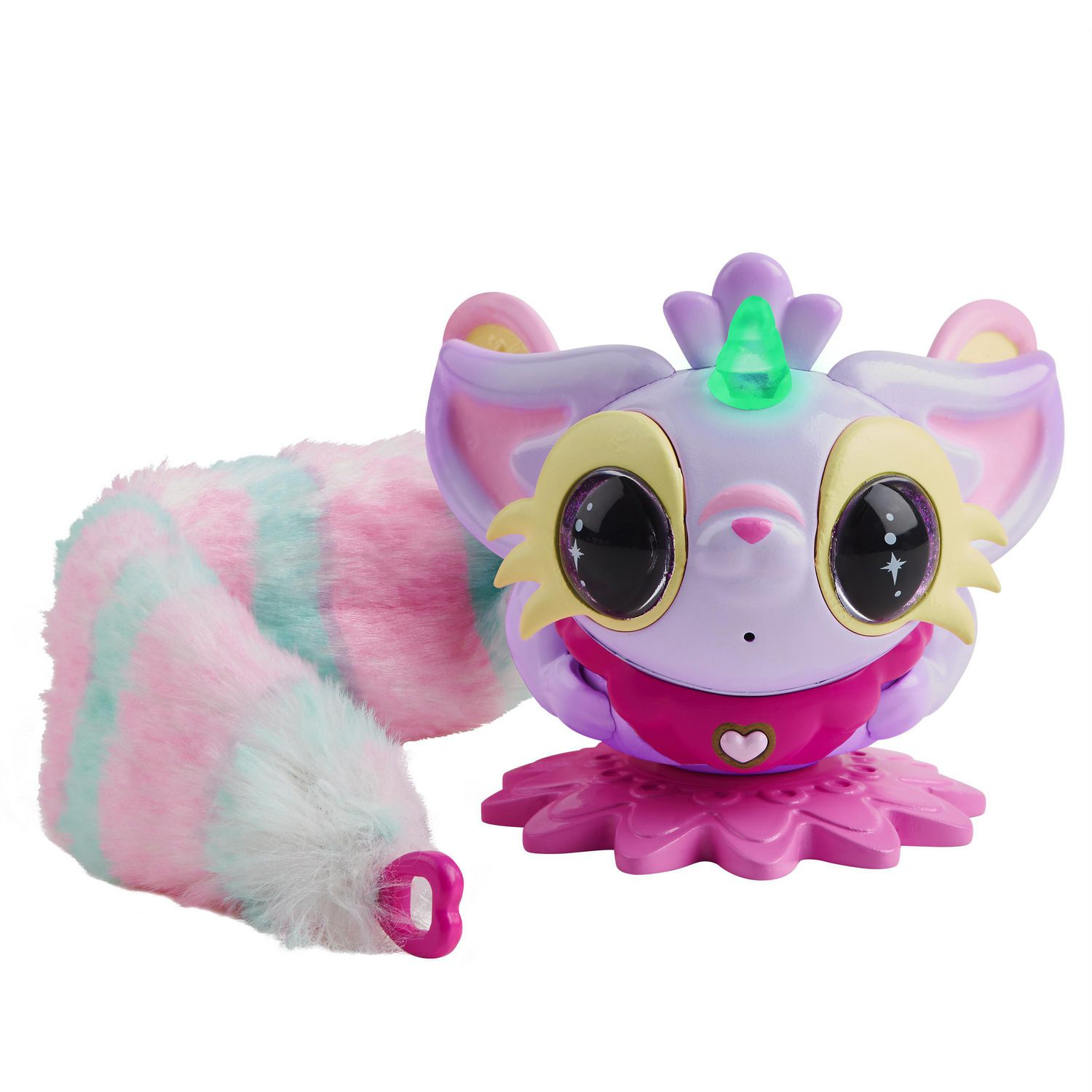 Pixie Belles   Layla Purple   Interactive Enchanted Animal Toy with Bonus  Tail