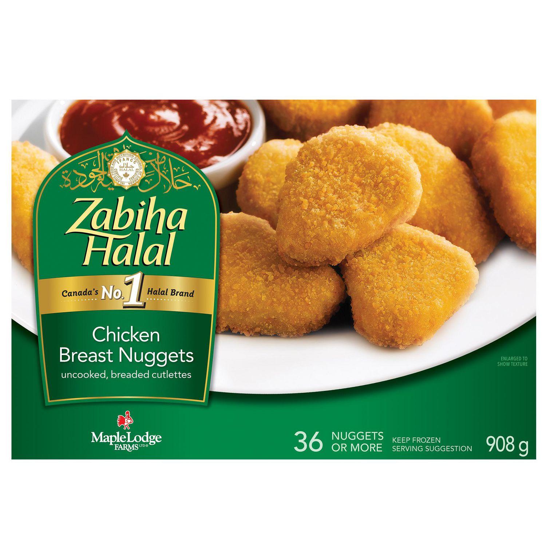 Zabiha Halal Chicken Breast Nuggets