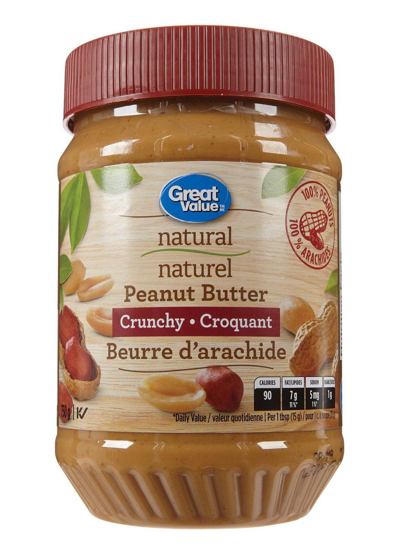 Great Value Natural Crunchy Peanut Butter | Walmart Canada