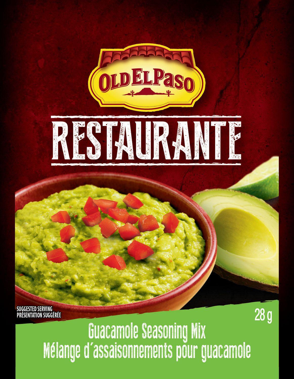 Old El Paso Restaurante Guacamole Seasoning | Walmart Canada