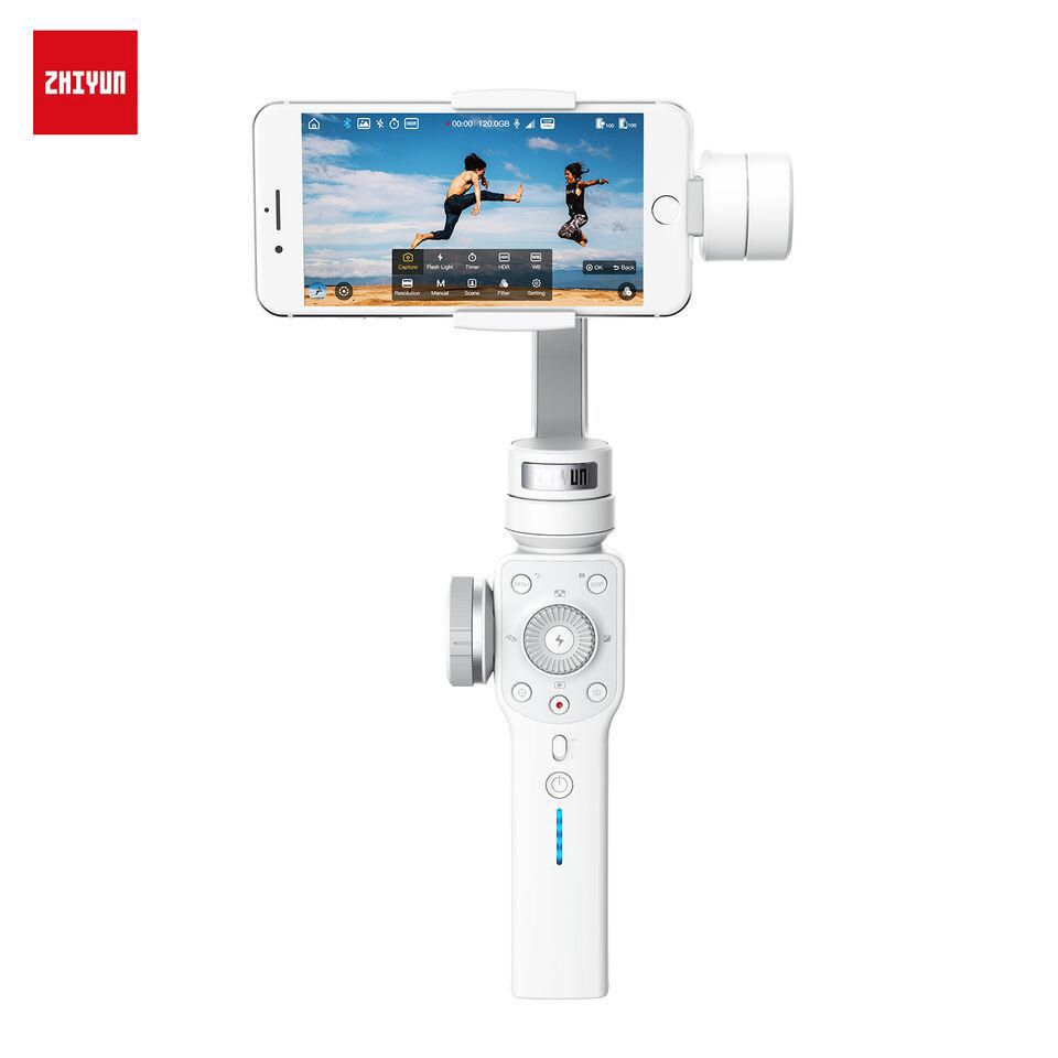 Zhiyun Smooth 4 Multi Function 3 Axis Handheld Gimbal Stabilizer For Tech Ii Smartphones White Walmart Canada