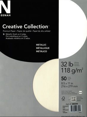 creative collection metallic premium paper walmart canada