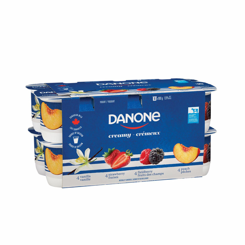 Danone Creamy Yogurt Nutrition Facts - Nutrition Ftempo