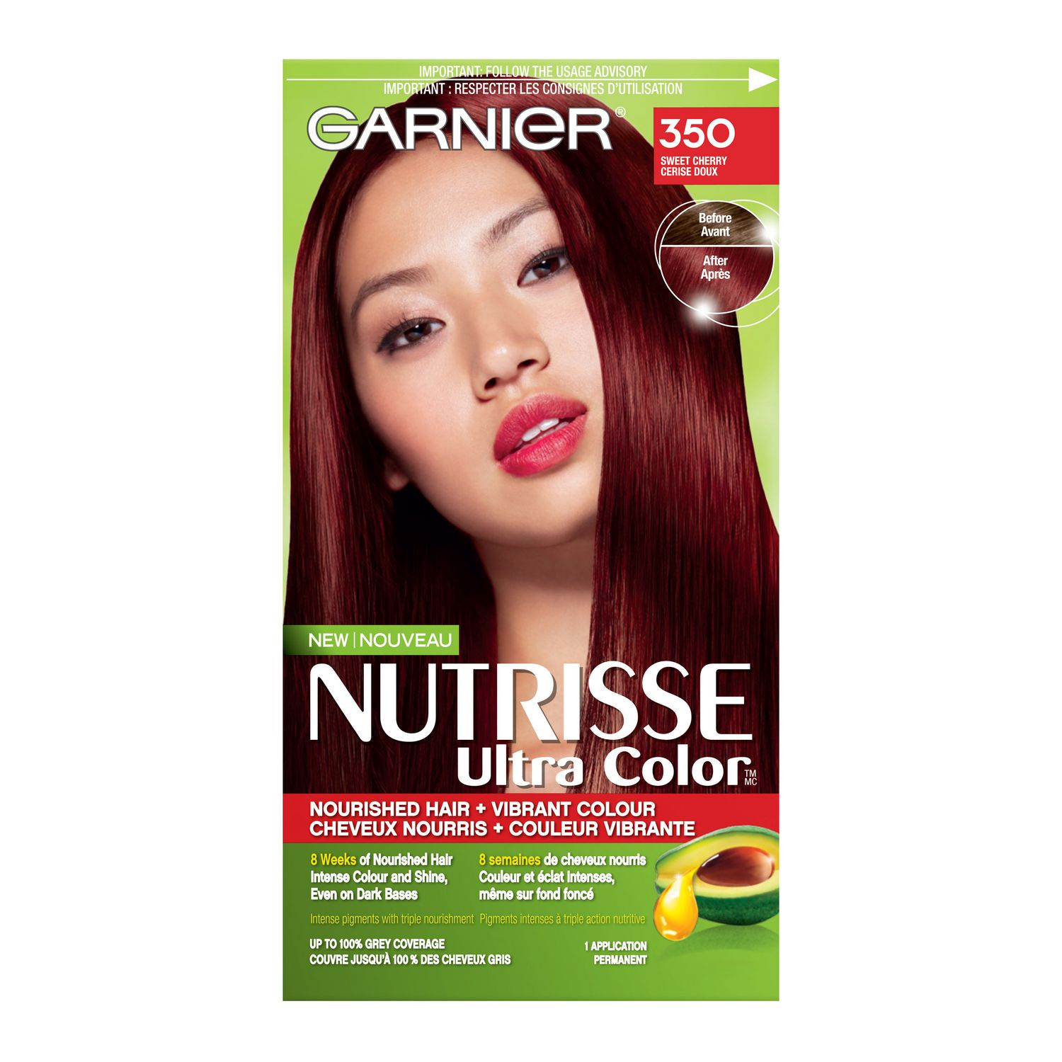 Garnier Nutrisse Ultra Color Nourished Permanent Haircolour
