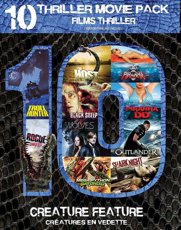 CREATURE FEATURE DVD MULTIPACK   Walmart Canada