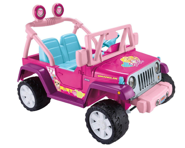 fisher price power wheels barbie jammin jeep wrangler walmart canada