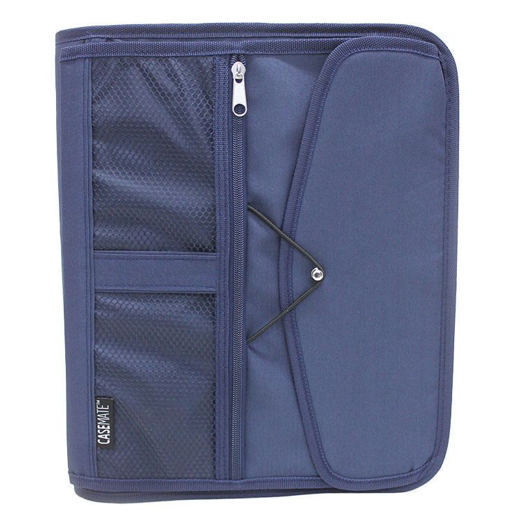 """Casemate 1.5"""" 3 Ring Mesh Binder With Bungee"""