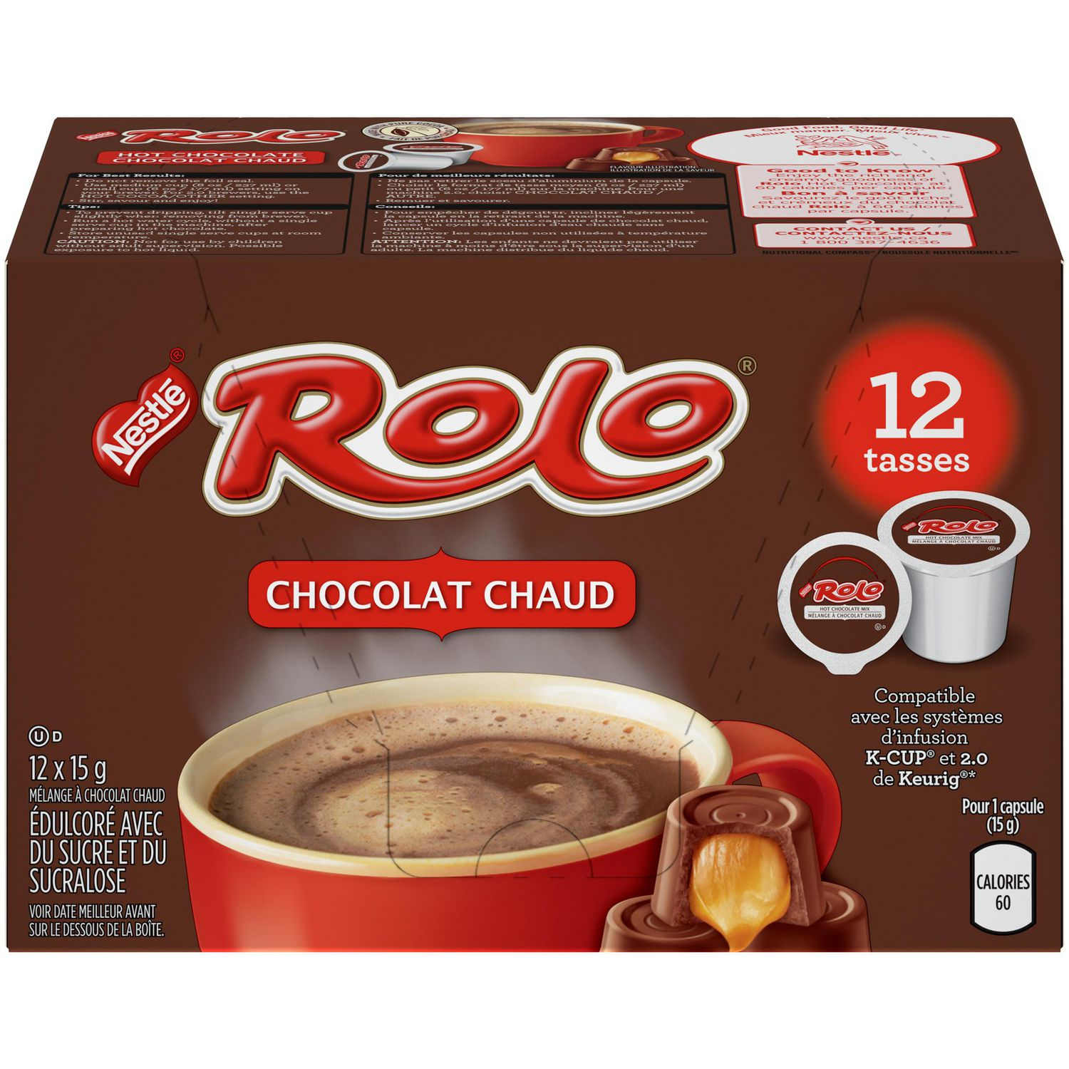 Keurig K Cups Hot Chocolate Nutrition Nutrition Ftempo