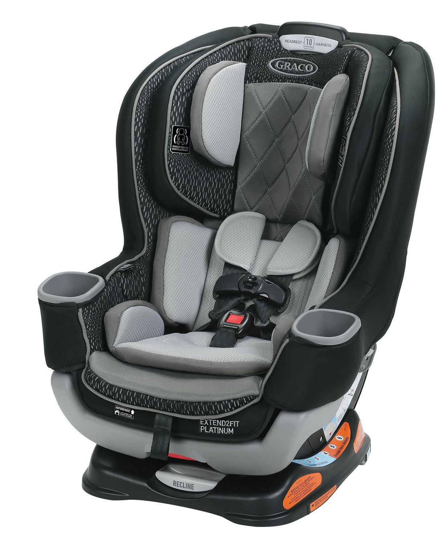 Graco Extend2Fit Platinum Convertible Car Seat | Walmart ...