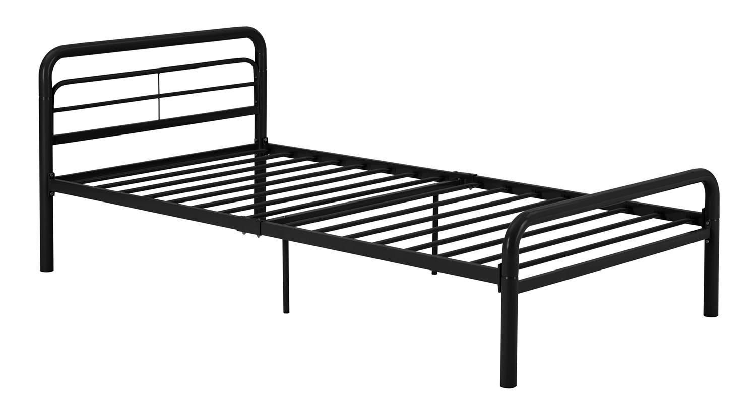 dhp black metal bed  walmartca -