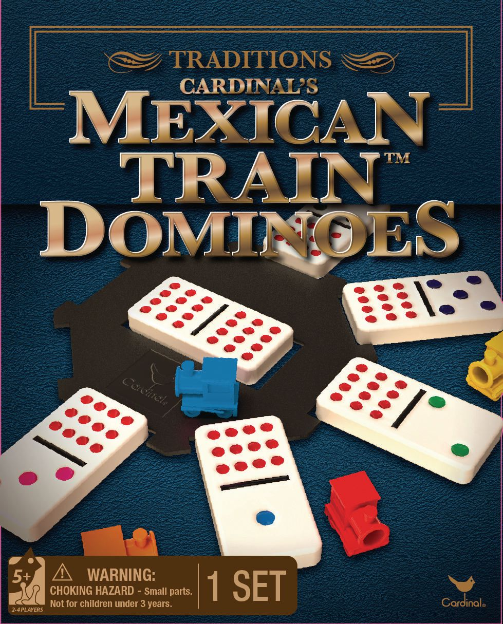 Cardinal Games Traditions Mexican Train Dominoes Game Walmart Canada