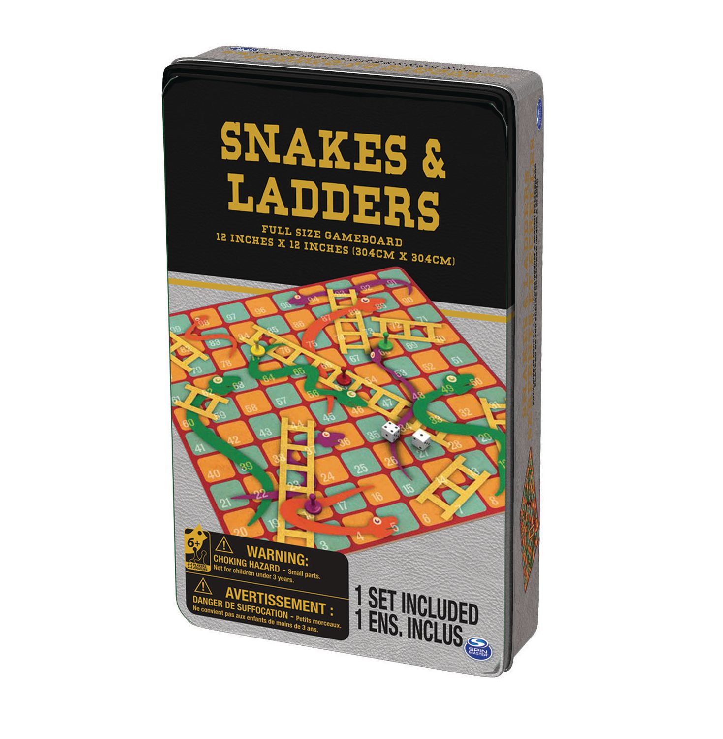 Cardinal Games Classic Snakes Ladders Game Walmart Canada