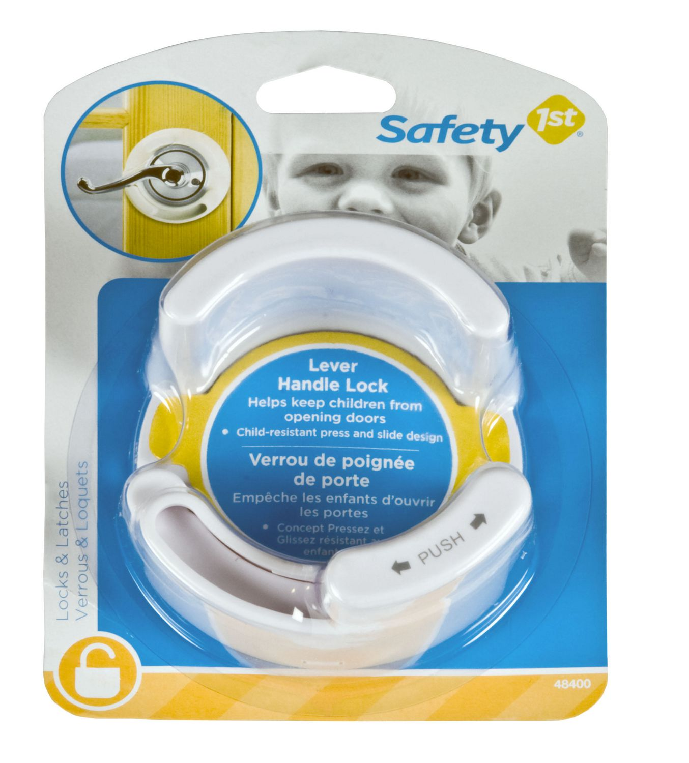 baby household safety save money live better walmart ca safety 1st locks latches lever handle lock