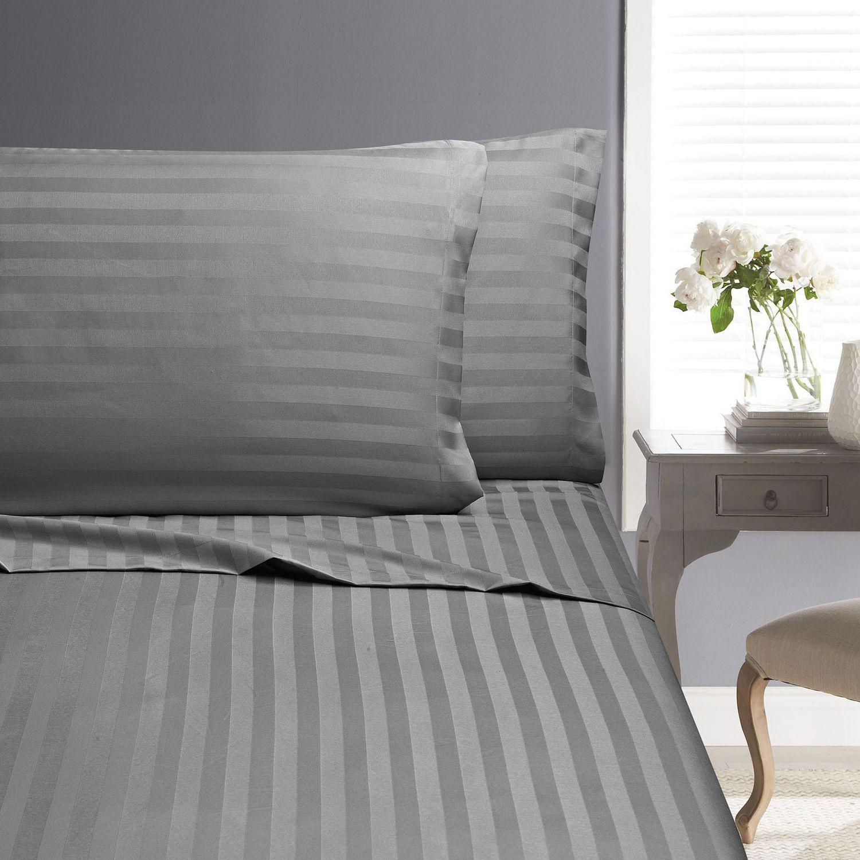 Swift Home Dobby Stripe Sheet Set Walmart Canada