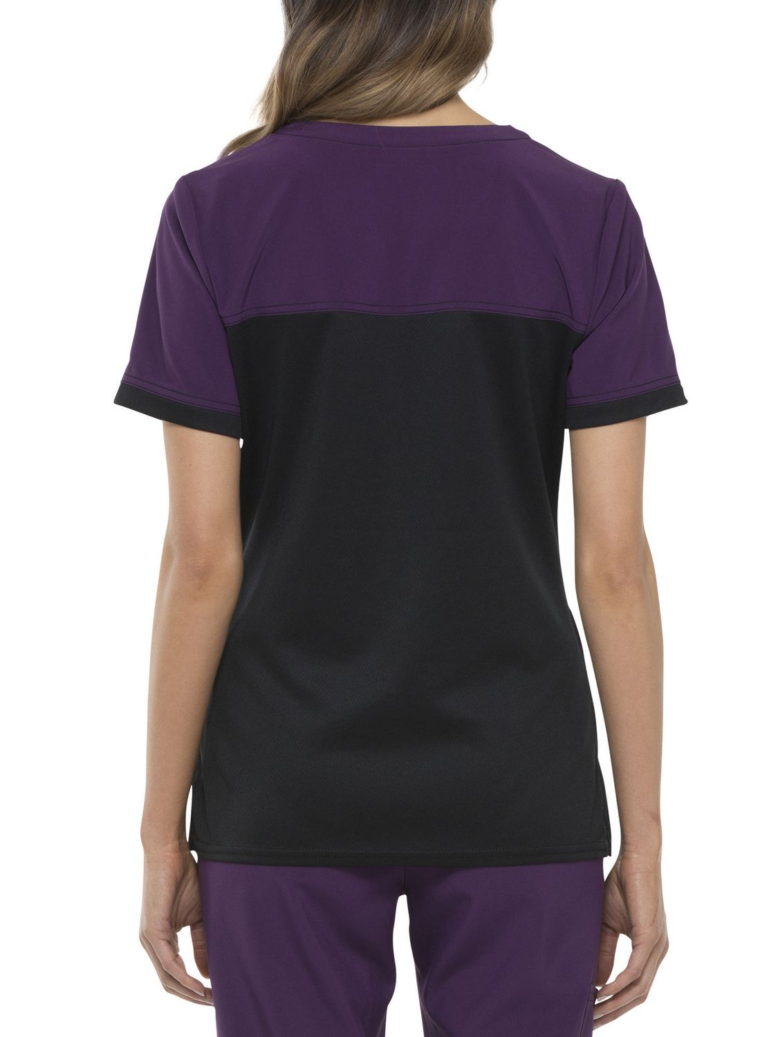 5dd3bdd4276 Scrubstar Women's Fashion Collection Stretch Scrub Top with Knit Contrast |  Walmart Canada