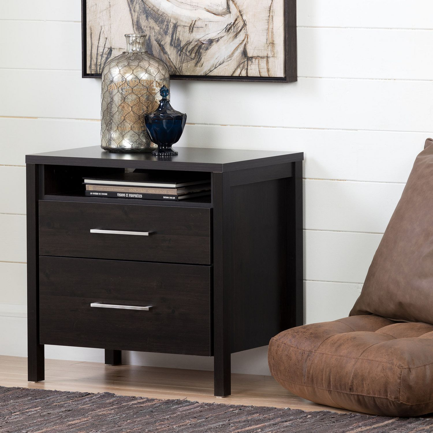 south shore gravity drawer night stand  walmartca -