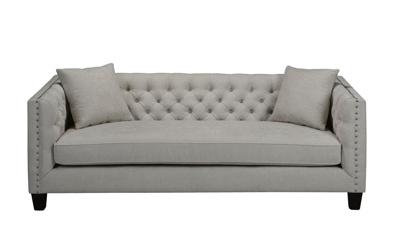 Tremendous Canadian Made Aliyah White Fabric Sofa Machost Co Dining Chair Design Ideas Machostcouk