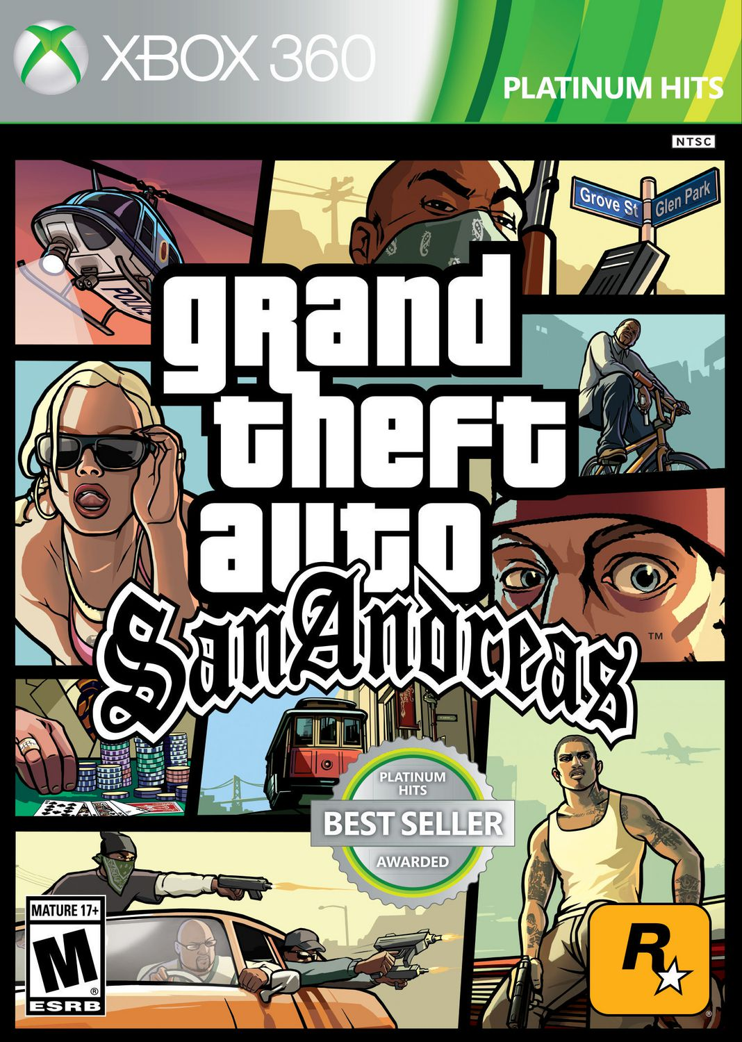 Grand Theft Auto: San Andreas (Xbox 360)