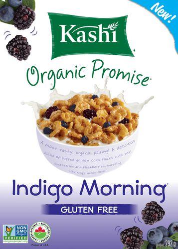 Kashi Organic Promise Indigo Morning Gluten-Free Cereal ...