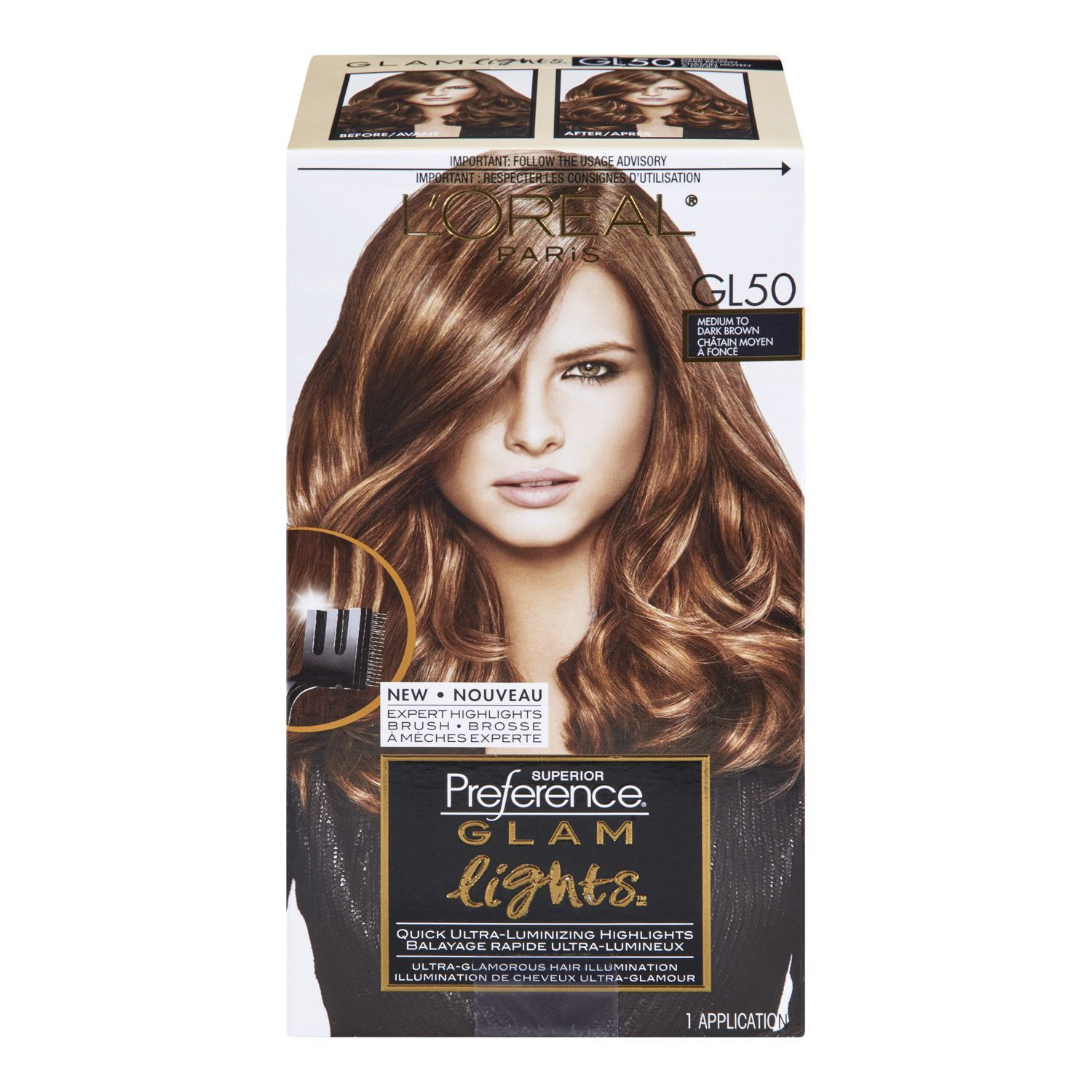 L Oreal Paris Superior Preference Glam Lights Haircolour 9