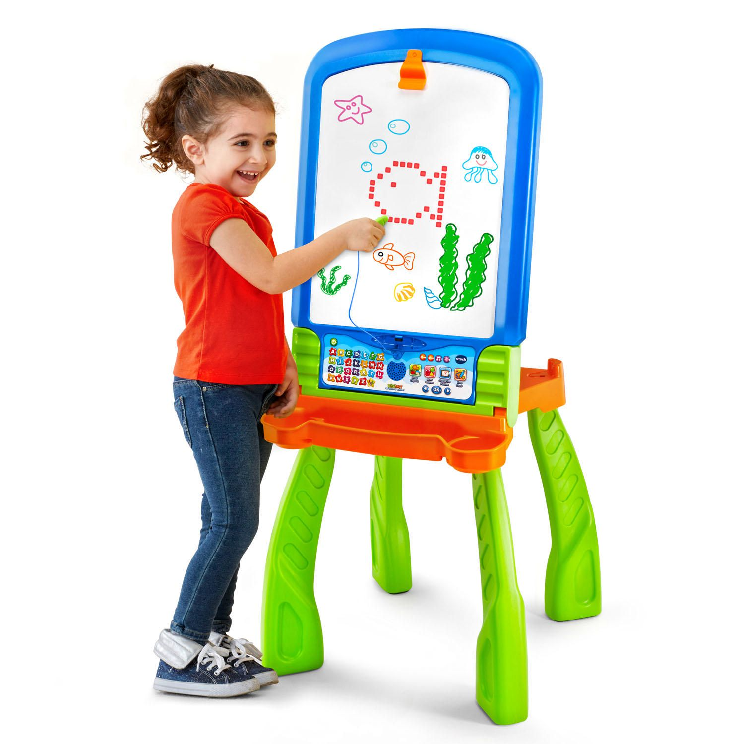 vtech digiart creative easel interactive learning toy english