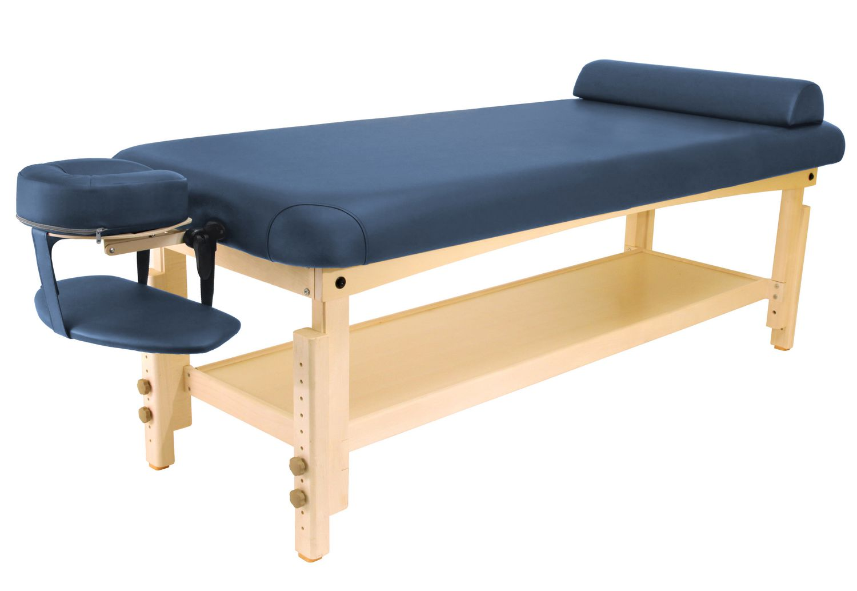 "Master Massage 7"" Laguna Stationary Salon Massage Table"