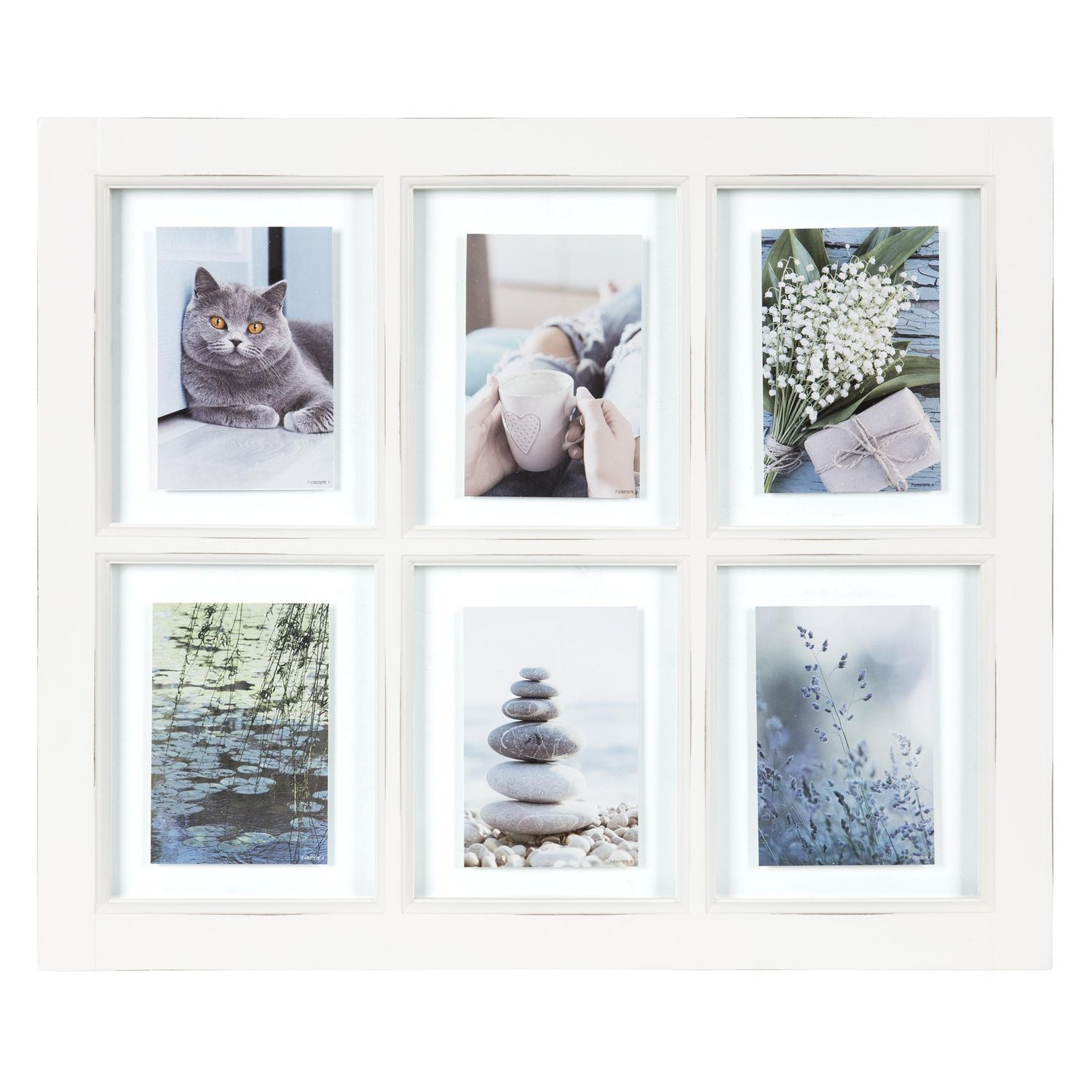 massie 6 opening window collage white frame walmartca