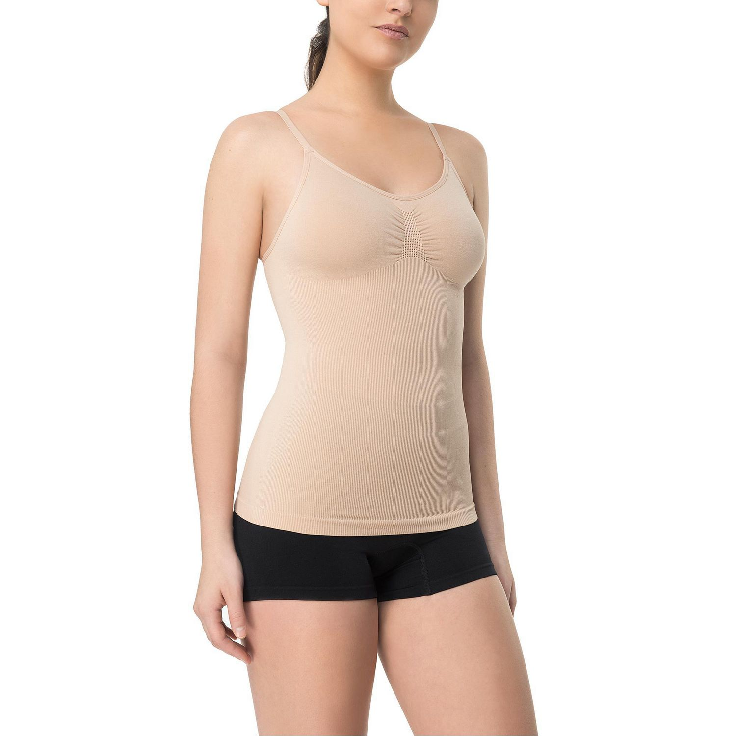 75026ec087d17 George Girls  Seamless Tummy Control Camisole - image 1 of 1 zoomed image