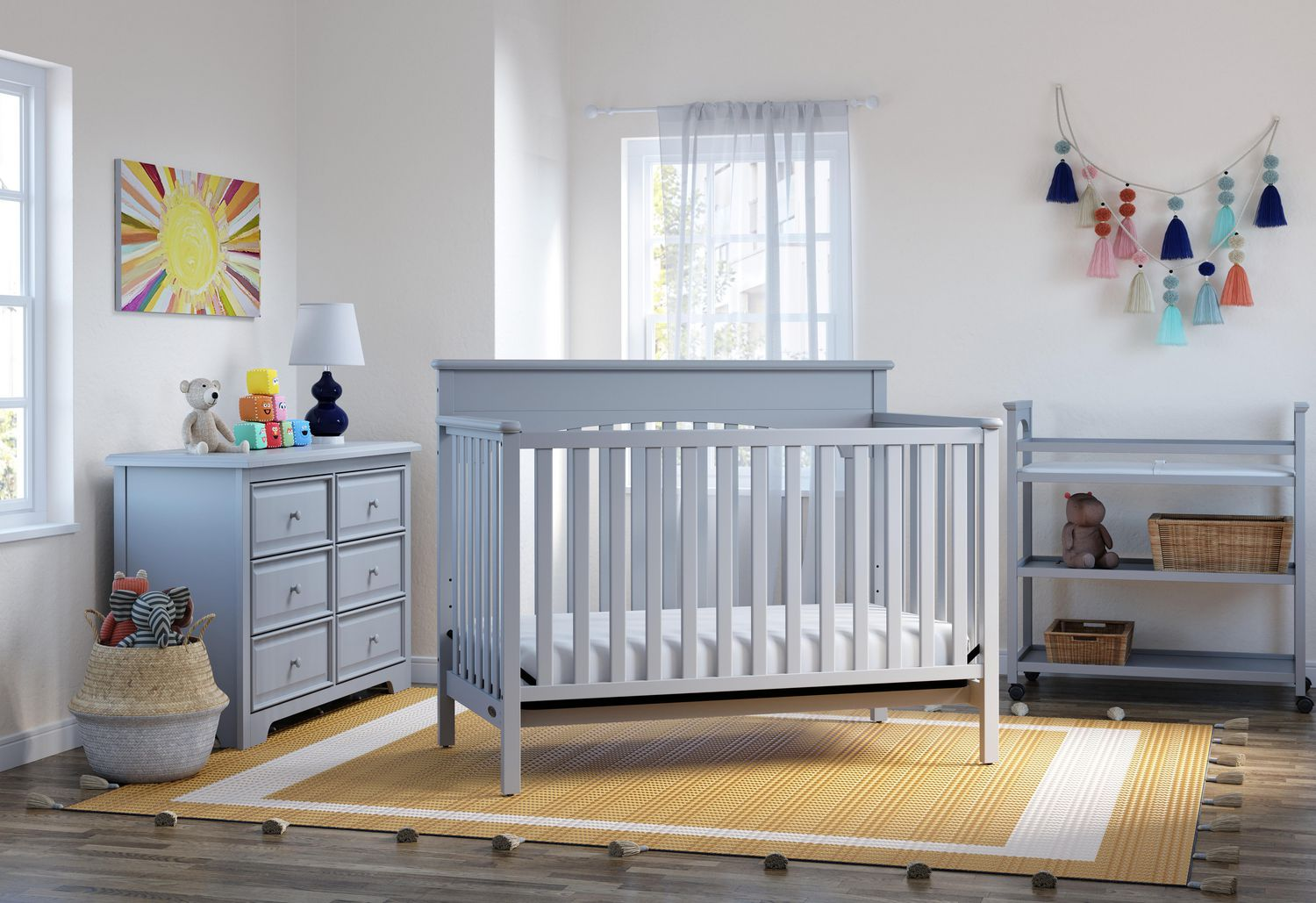 Graco Lauren 4 In 1 Convertible Crib