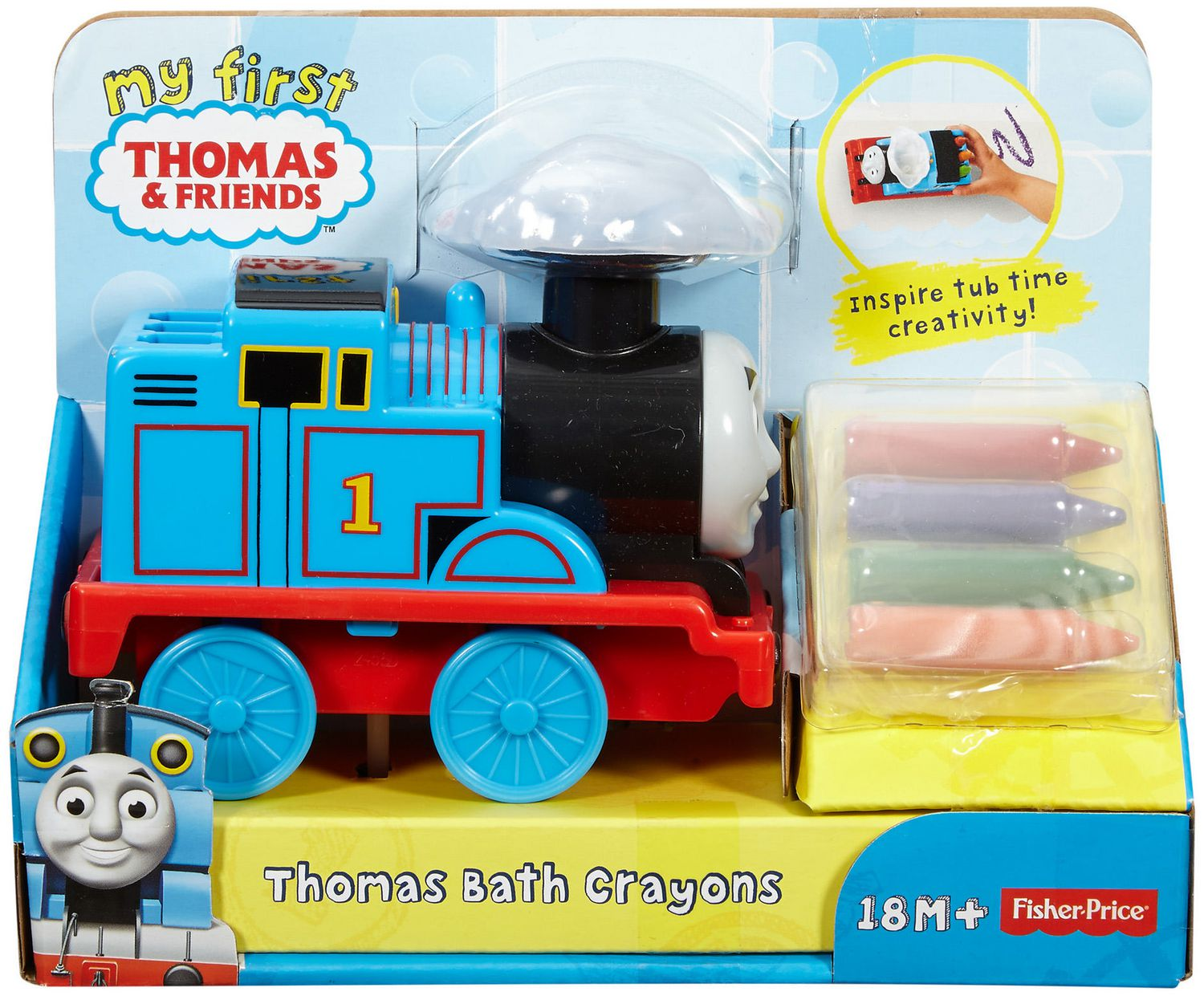 Thomas and Friends My First Thomas & Friends Thomas Bath Crayons ...
