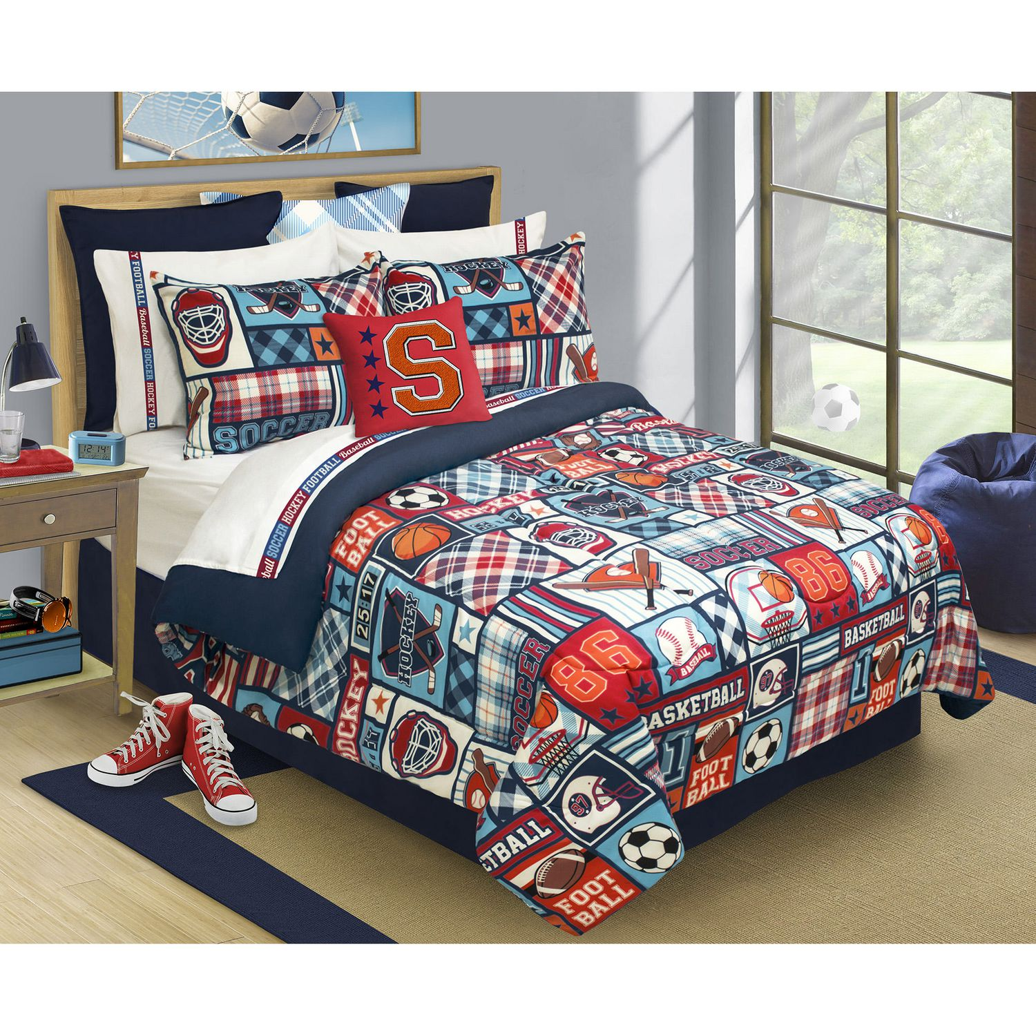 Walmart Home Store: Safdie & Co. Home Deluxe Collection Multi Color 100