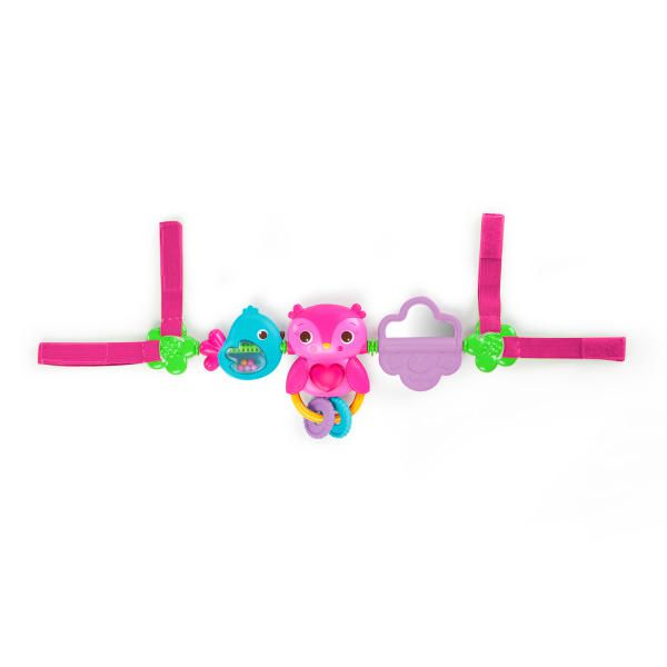 Bright Starts Busy Birdies Carrier Toy BarTM Take Along