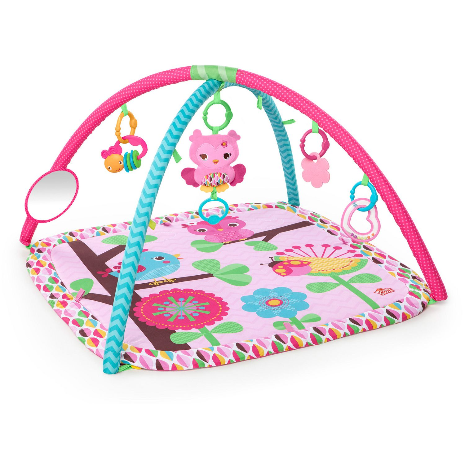buy gyms  play mats online  walmart canada - bright starts™ charming chirps activity gym™