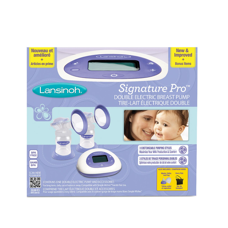 Lansinoh Signature Pro Double Electric Breast Pump  Walmart Canada-9262