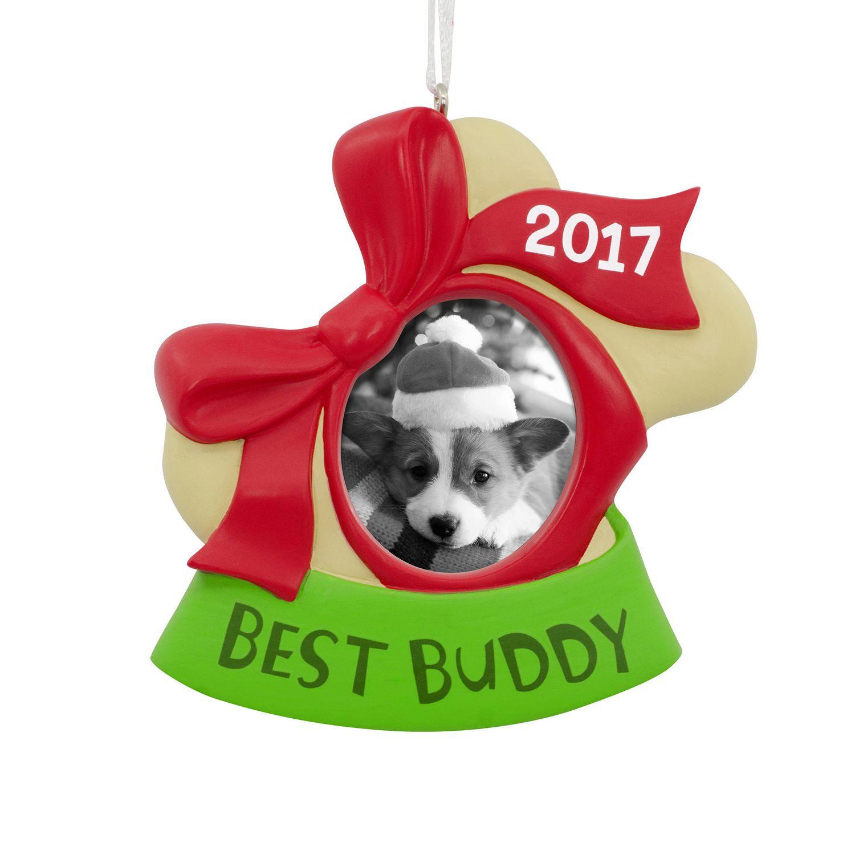Hallmark Dog 2017 Picture Frame Christmas Tree Ornament ...
