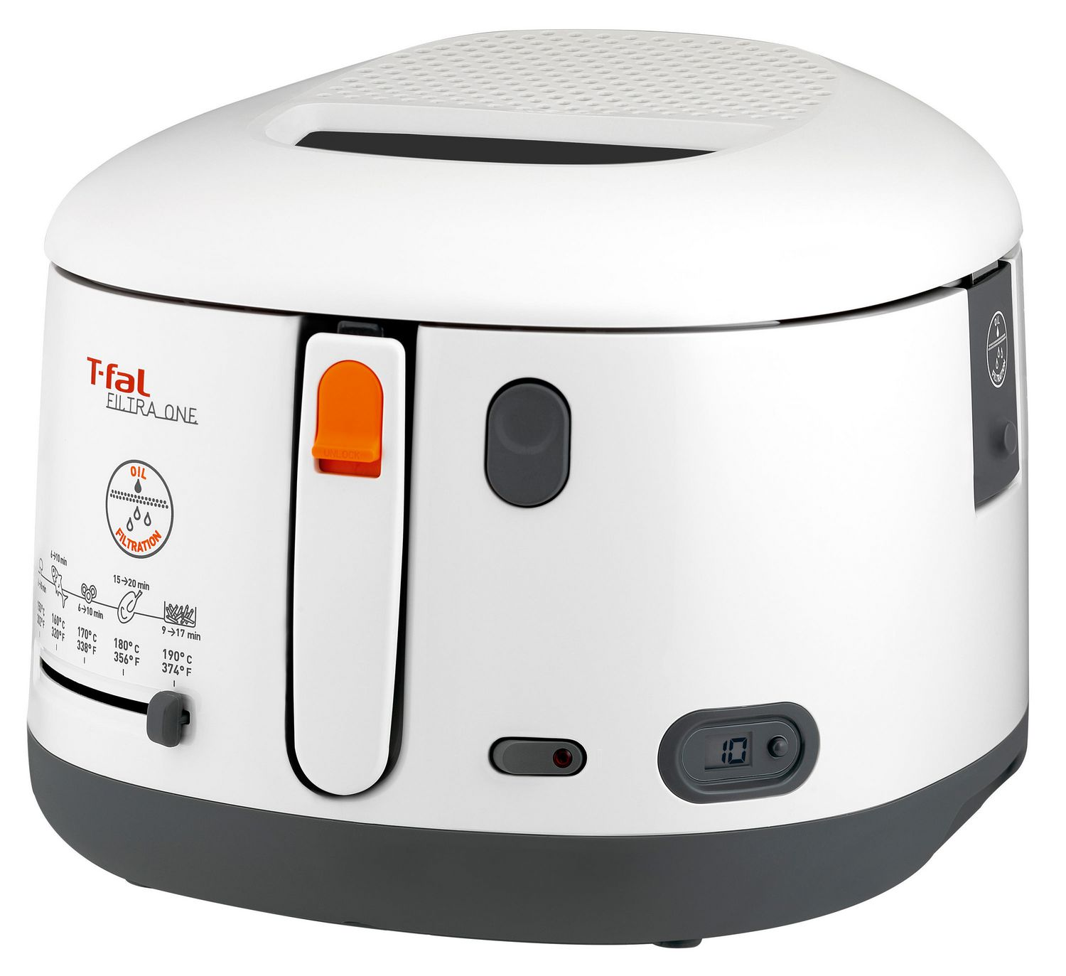 T Fal Filtra Pro 3 L Fryer 1600W Permanent Filter Viewing Window Gift Idea