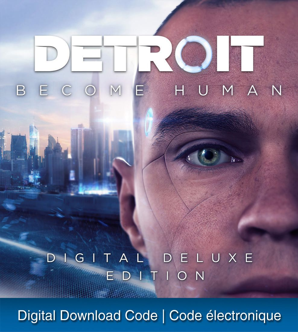 PS4 DETROIT: Become Human Digital Deluxe Edition (digital