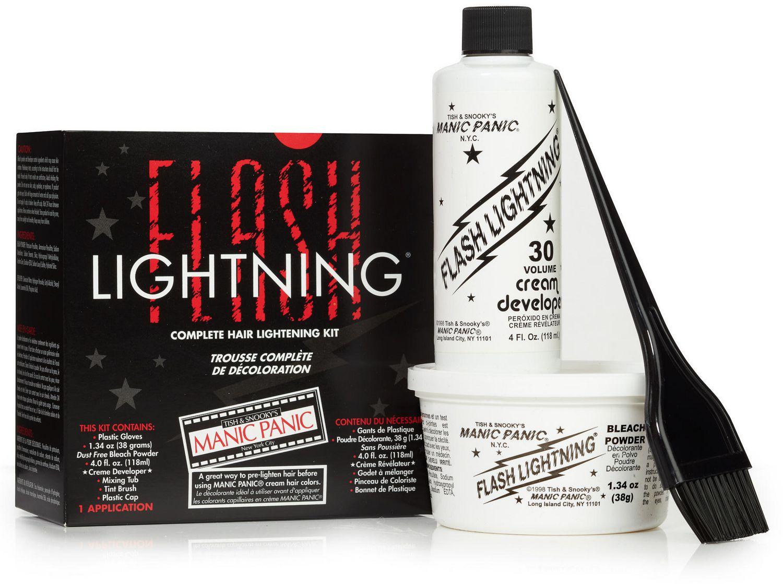 Manic Panic Flash Lightning Complete Hair Lightening Kit Walmart