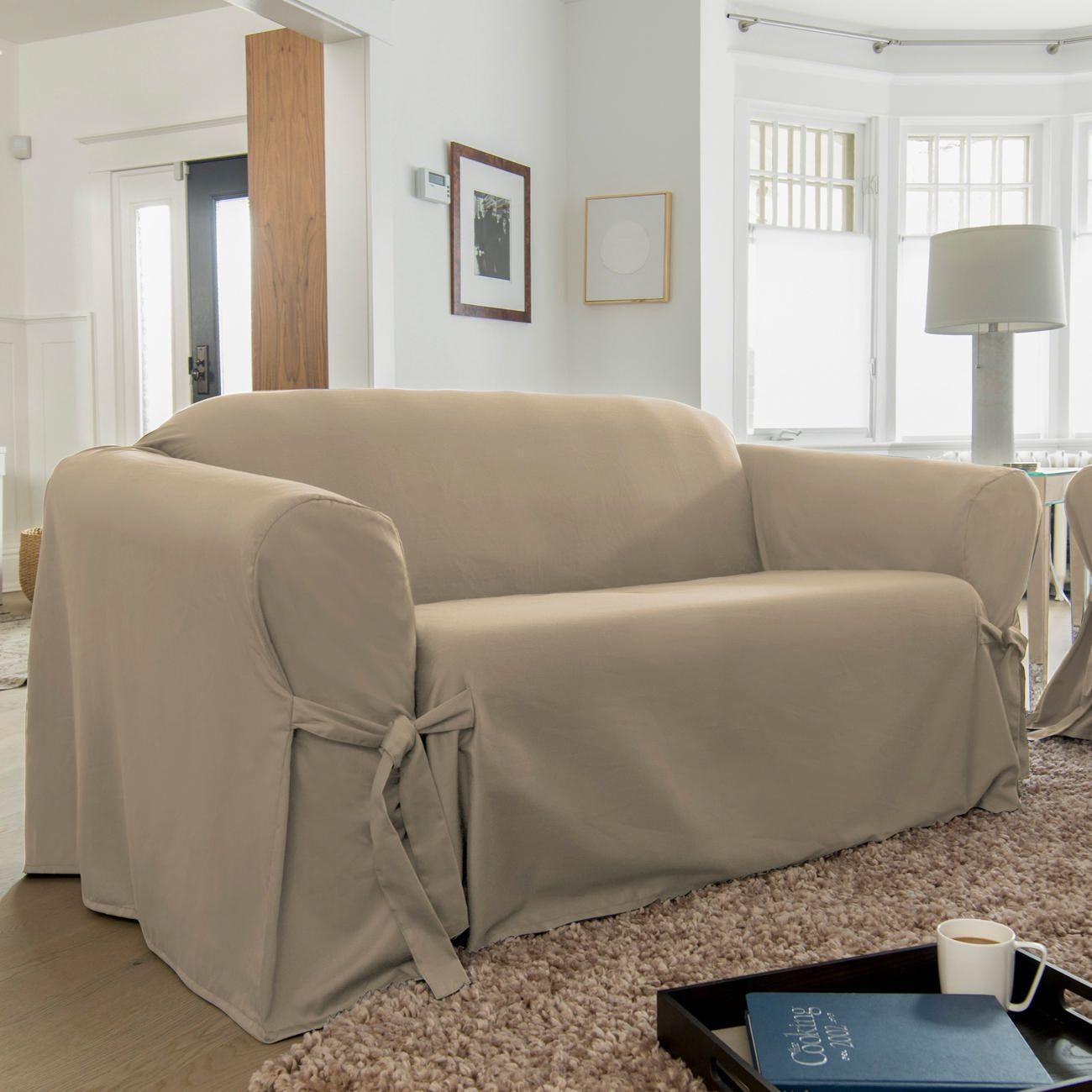 SureFit Muskoka Relaxed Fit Sofa Slipcover Walmartca