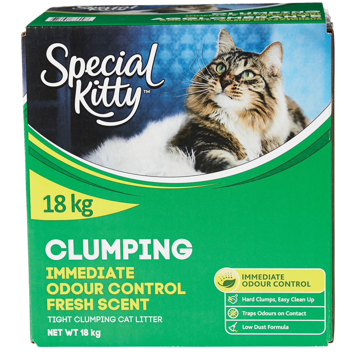 Special Kitty Clumping Immediate Odour Control Fresh Scent Cat