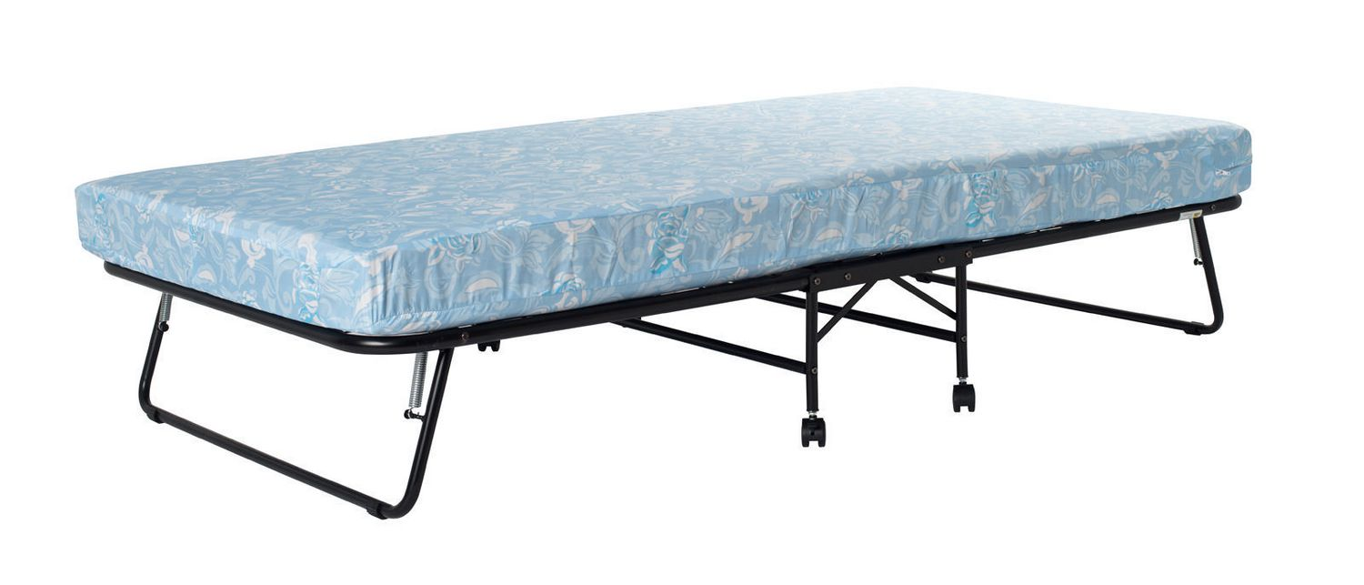 DHP Folding Roll Away Guest Bed with Mattress | Walmart Canada