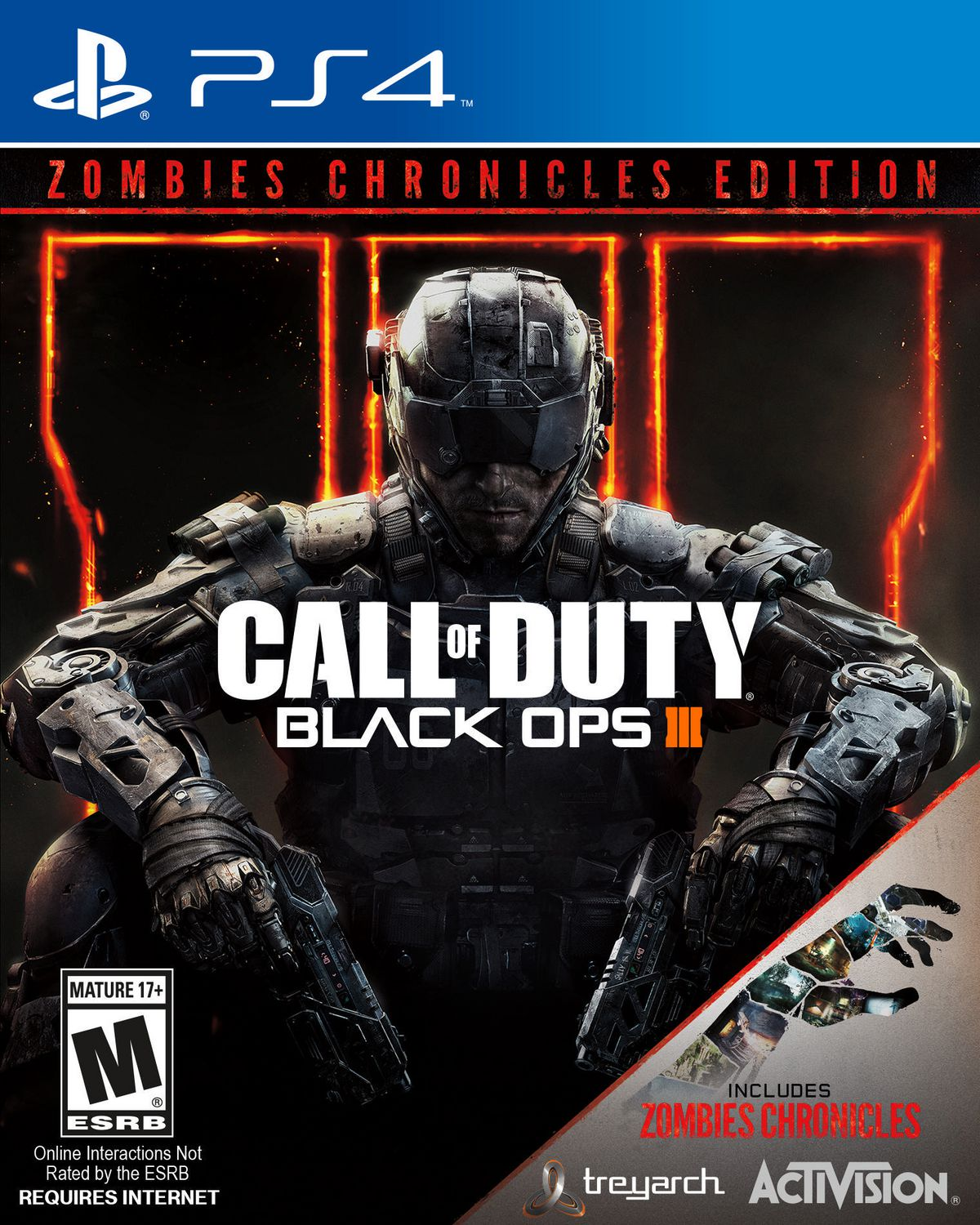 Call Of Duty: Black Ops 3 Zombie Chronicles Edition (PS4) | Walmart ...
