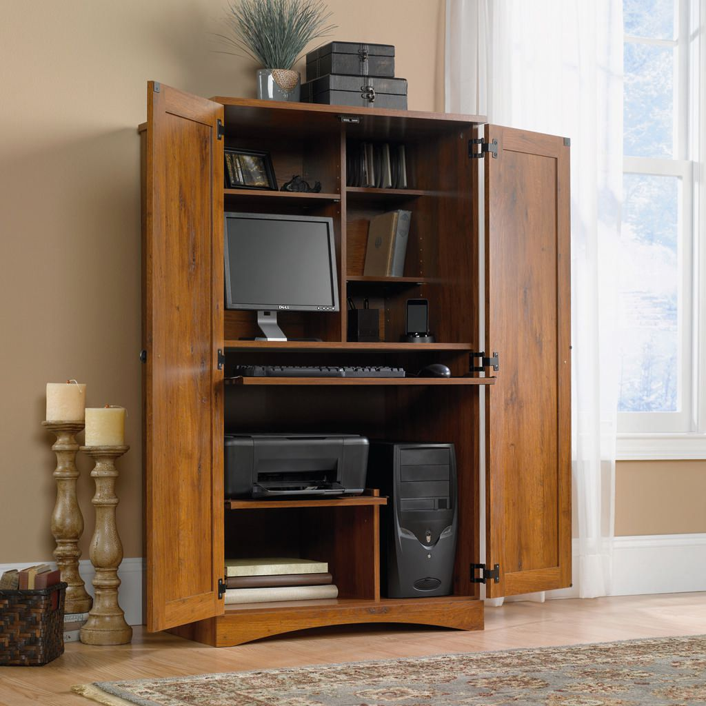 of armoire corner pics awesome desk elegant puter units computer new