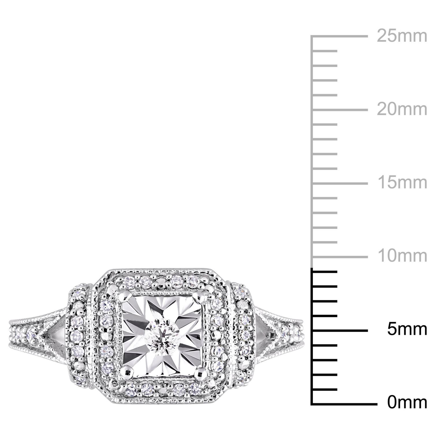 sterling en miabella canada flower accent silver diamond ring rings engagement ip walmart