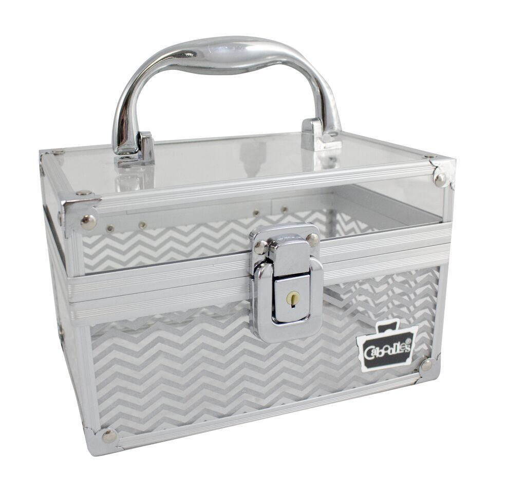 Caboodles Crystal Clear 7 Inches Cosmetic Train Case Walmart Canada