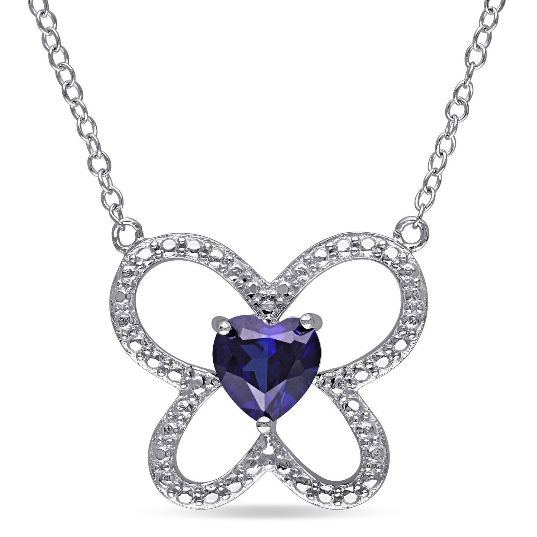 GIA Certified TOP Ceylon Blue Sapphire Diamond Ring 14KWG