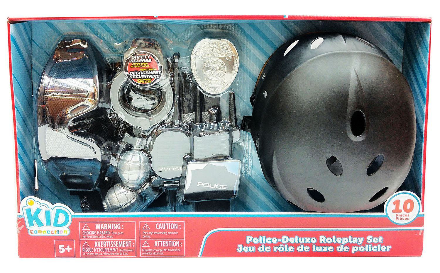 kid connection police deluxe roleplay set walmart canada