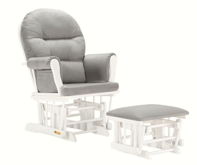 Lennox Glider Rocker Chair Ottoman Combo