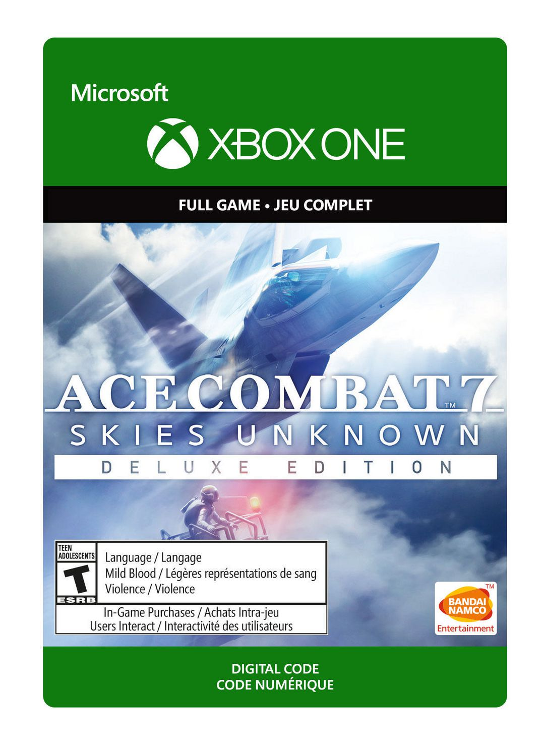 Xbox One Ace Combat 7: Skies Unknown: Deluxe Edition